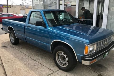 Pre-Owned 1991 Chevrolet S-10 Reg. Cab Long Bed 2WD