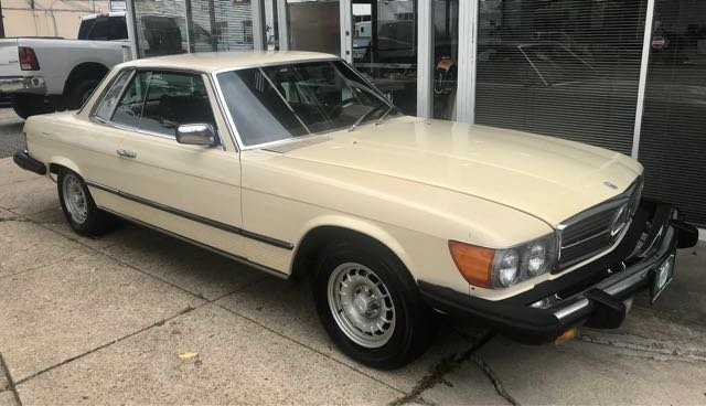 Pre-Owned 1979 Mercedes-Benz 450 SLC