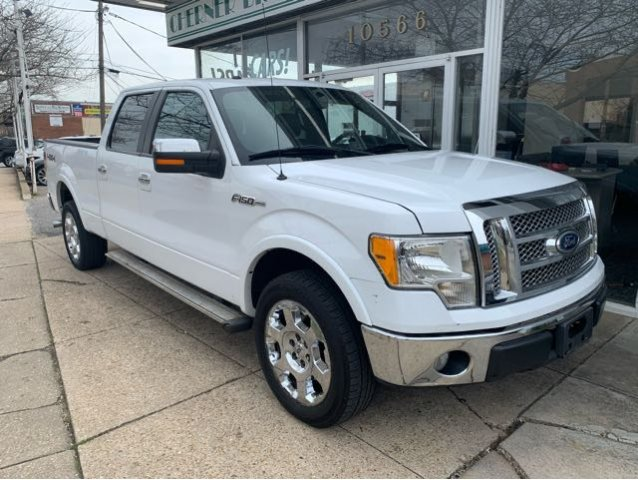 Pre-Owned 2010 Ford F-150 Lariat SuperCrew 5.5-ft. Bed 4WD