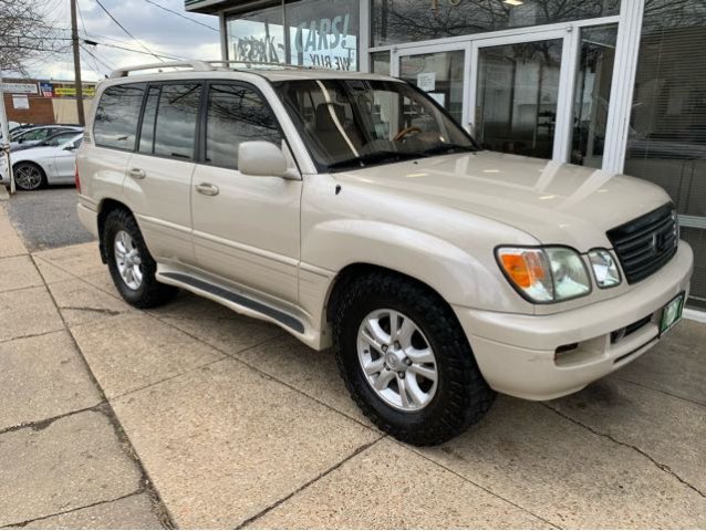 Pre-Owned 2003 Lexus LX 470 Sport Utility