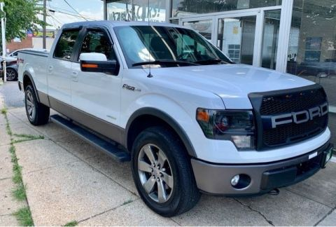 Pre-Owned 2014 Ford F-150 FX4 SuperCrew 5.5-ft. Bed 4WD